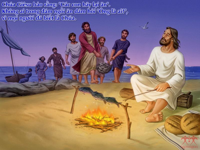 Kinh thánh bằng hình: Chúa nhật 3 Phục Sinh năm C