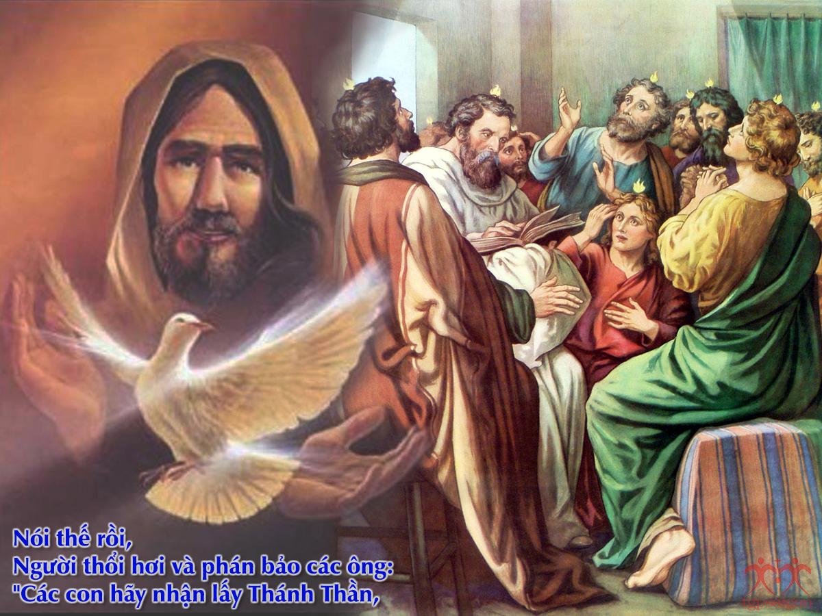 Kinh thánh bằng hình: CN Chúa Thánh Thần hiện xuống - Năm C