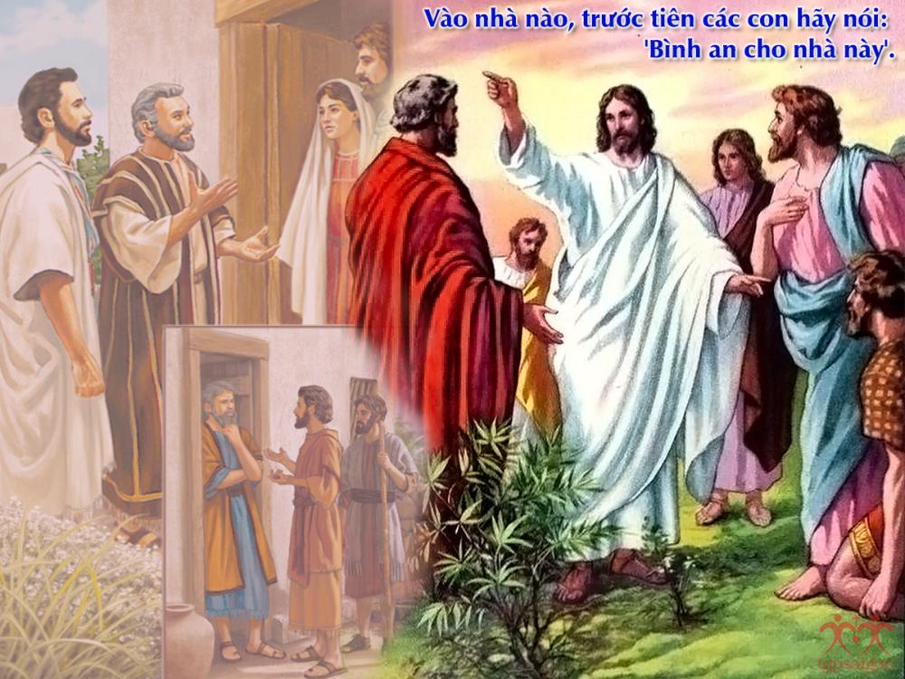 Kinh thánh bằng hình: Chúa nhật 14 Thường Niên năm C