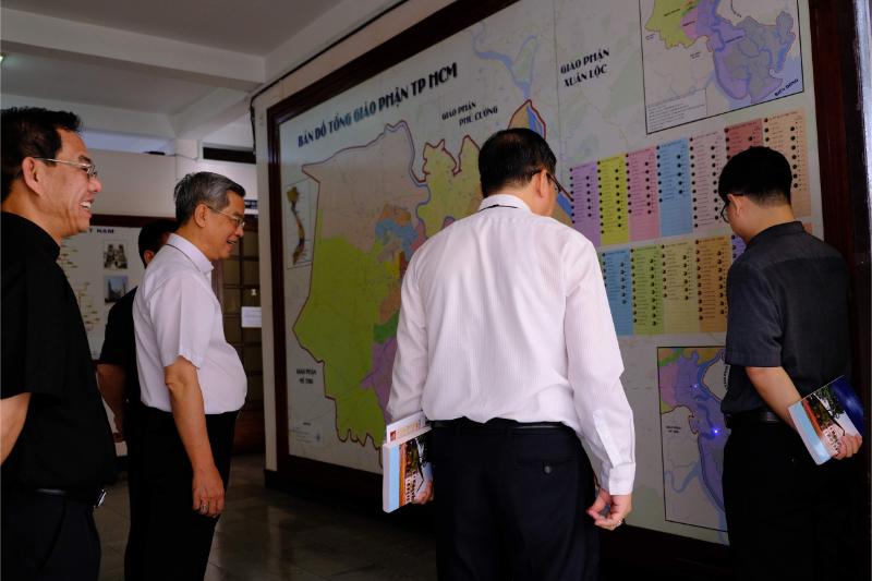 Giới thiệu bản đồ TGP. Sài Gòn