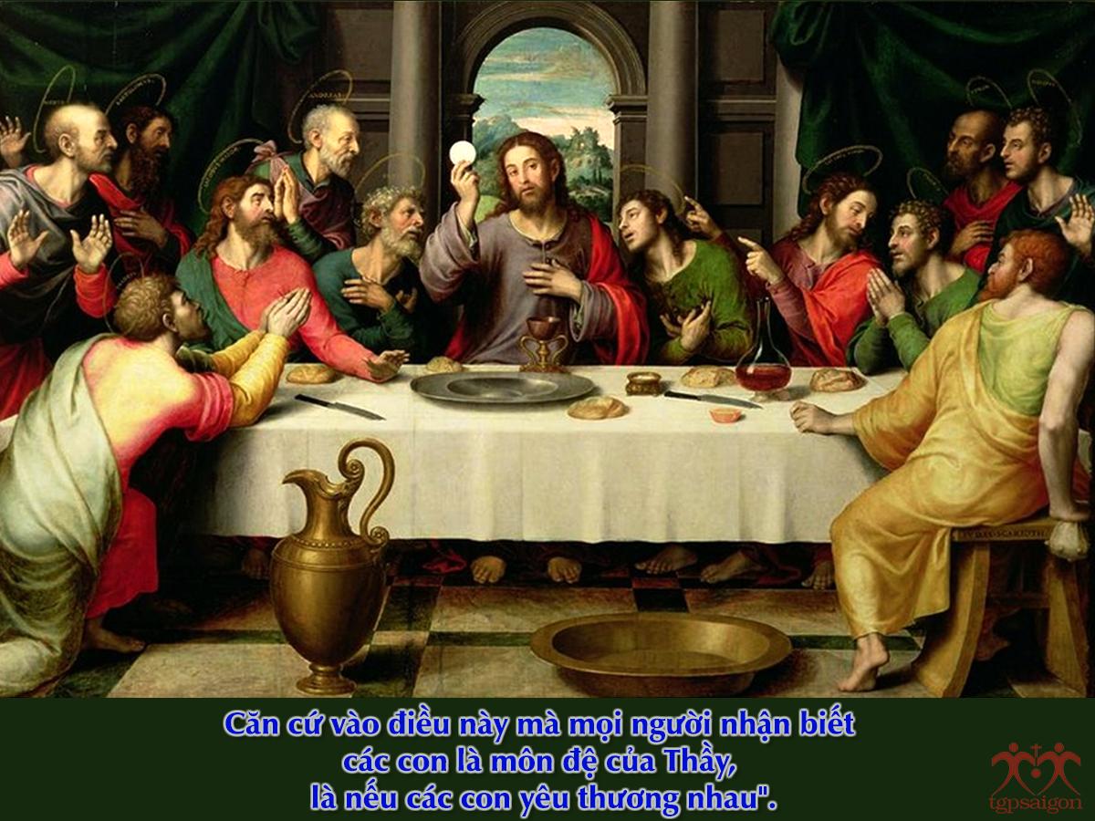 Kinh thánh bằng hình: Chúa nhật 5 Phục Sinh năm C