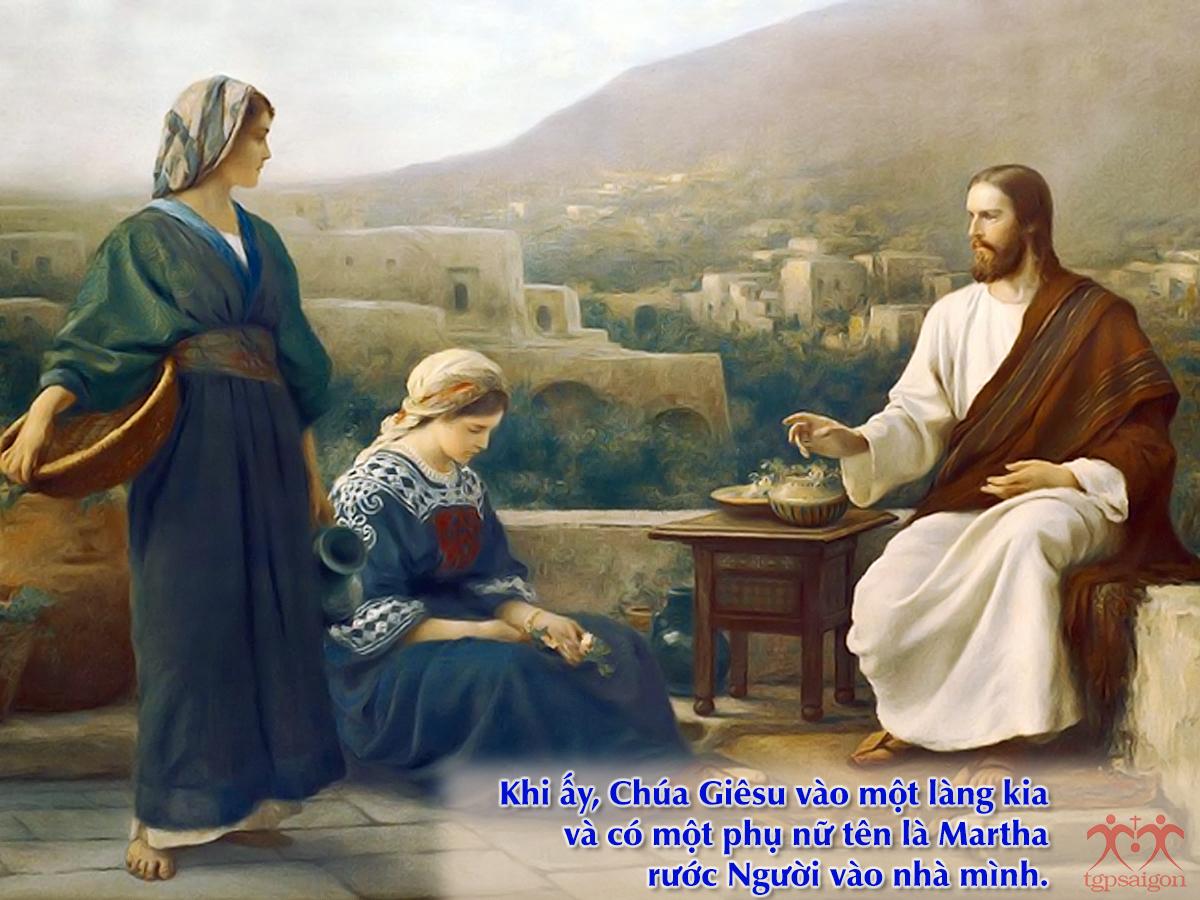 Kinh thánh bằng hình: Chúa nhật 16 Thường Niên năm C