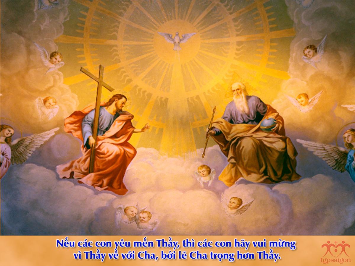 Kinh thánh bằng hình: Chúa nhật 6 Phục Sinh năm C