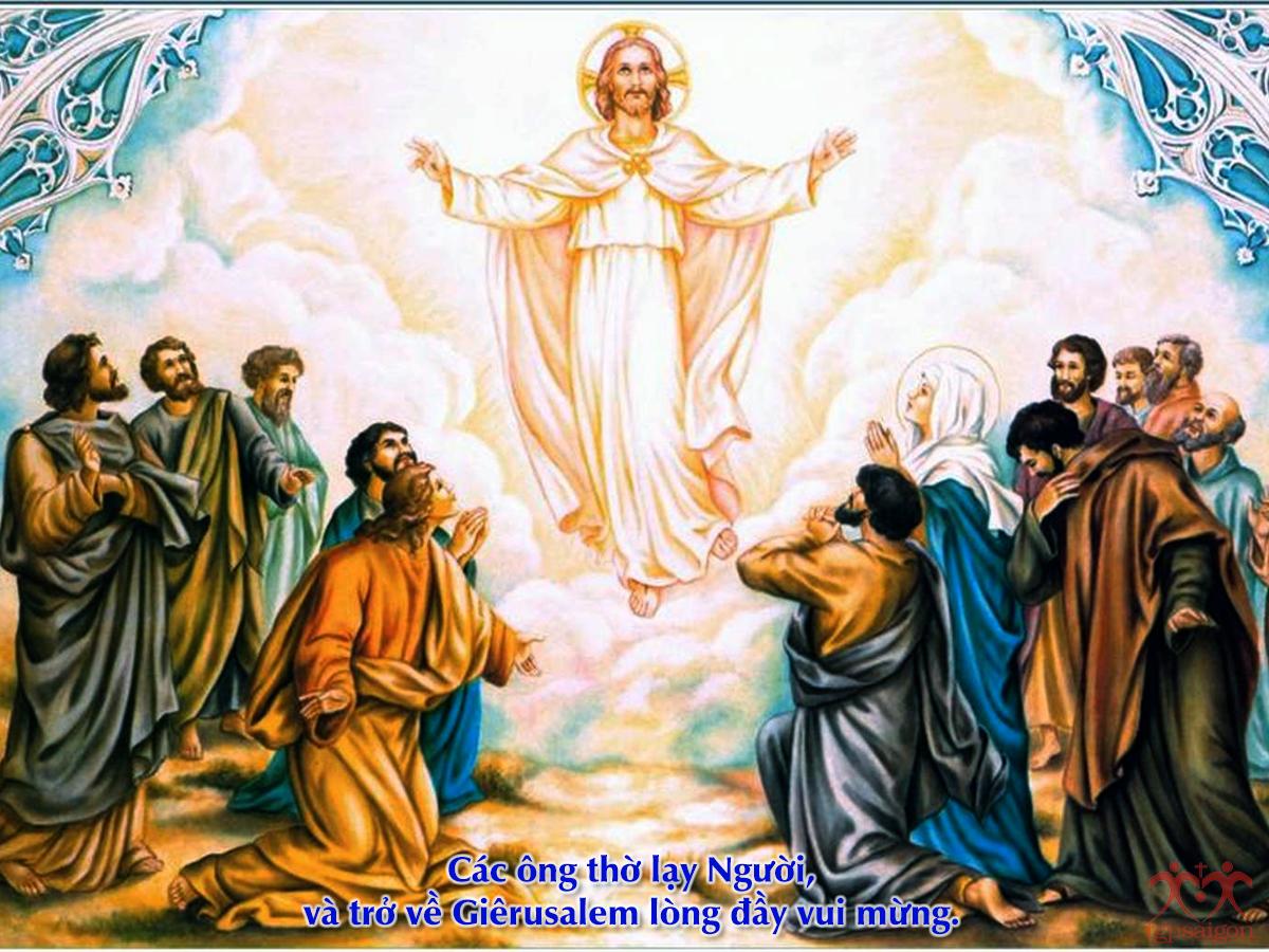 Kinh thánh bằng hình: CN 7 PS năm C - Lễ Chúa Thăng Thiên