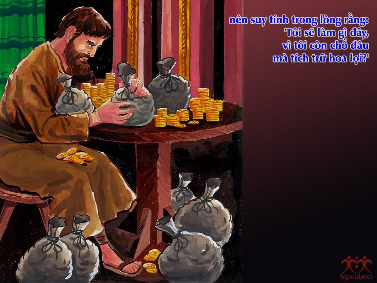 Kinh thánh bằng hình: Chúa nhật 18 Thường Niên năm C