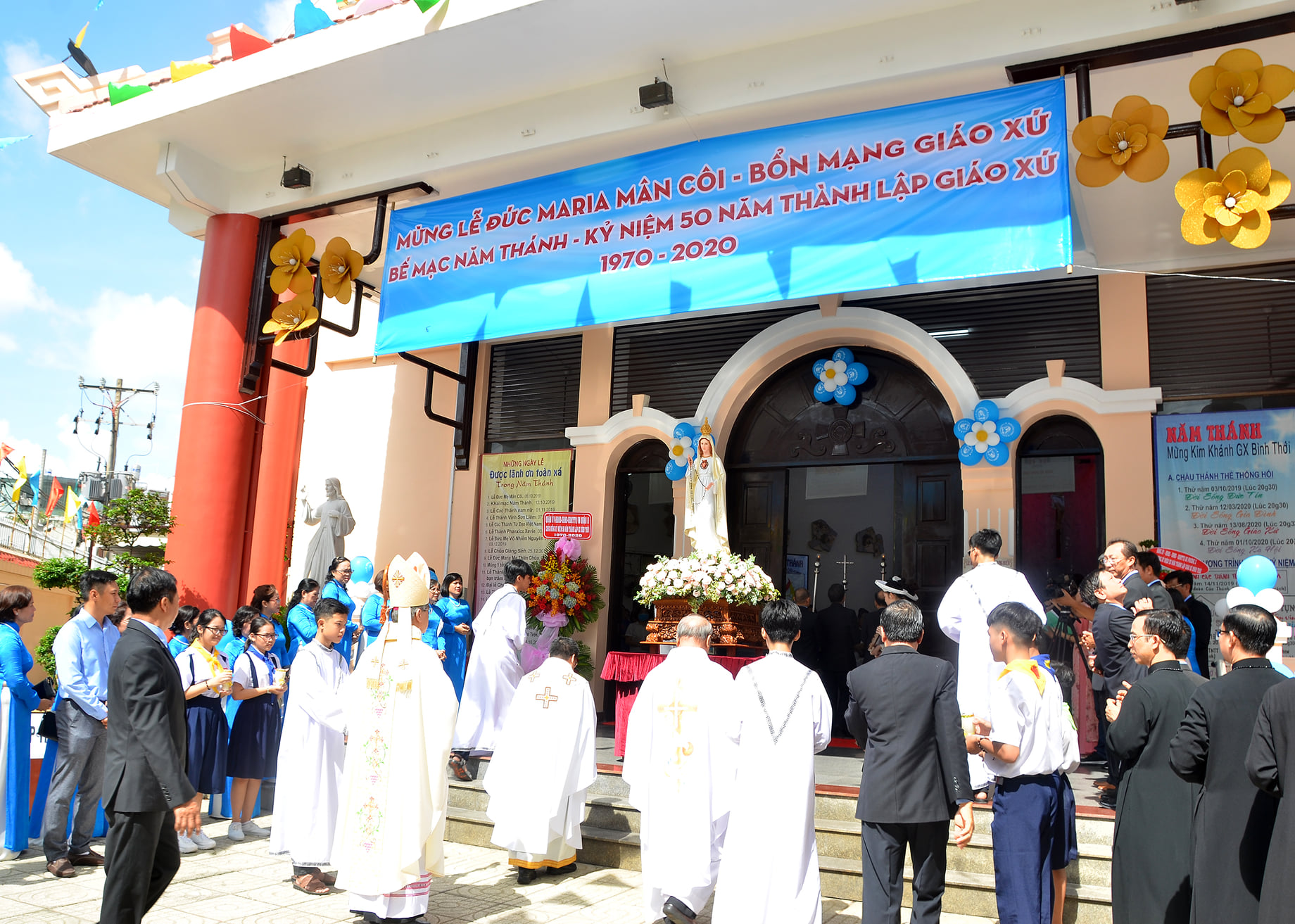 Giáo xứ Bình Thới: Mừng lễ bổn mạng ngày 04-10-2020
