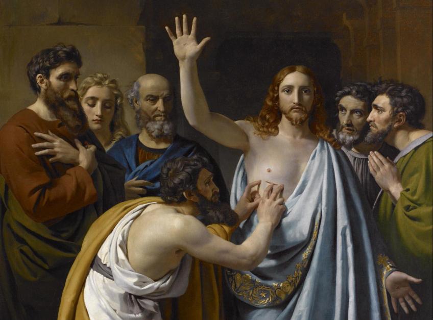 Đại lễ  'Lòng Chúa Thương Xót' và bức tranh 'Tôma cứng lòng'