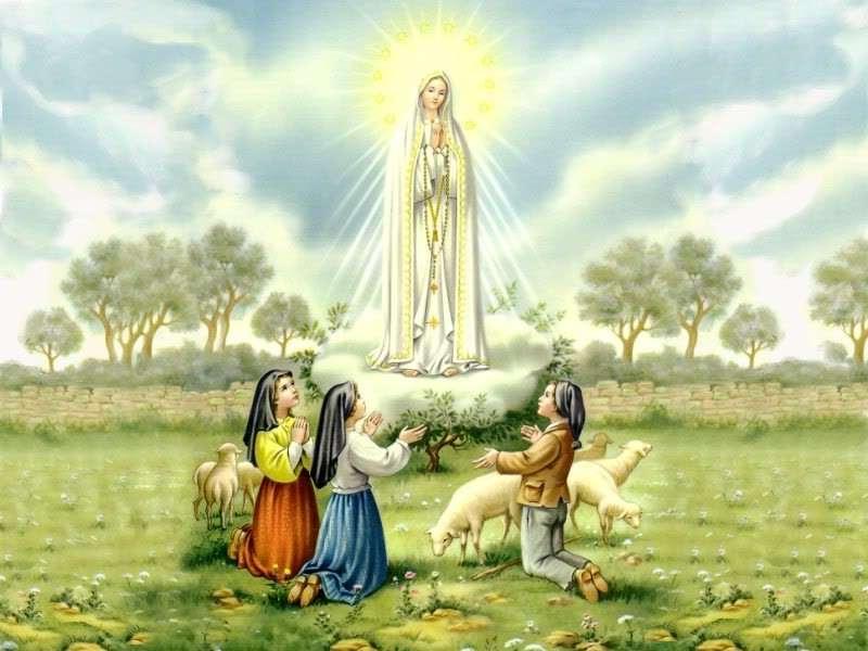 Ngày 13/05: Đức Mẹ hiện ra tại Fatima