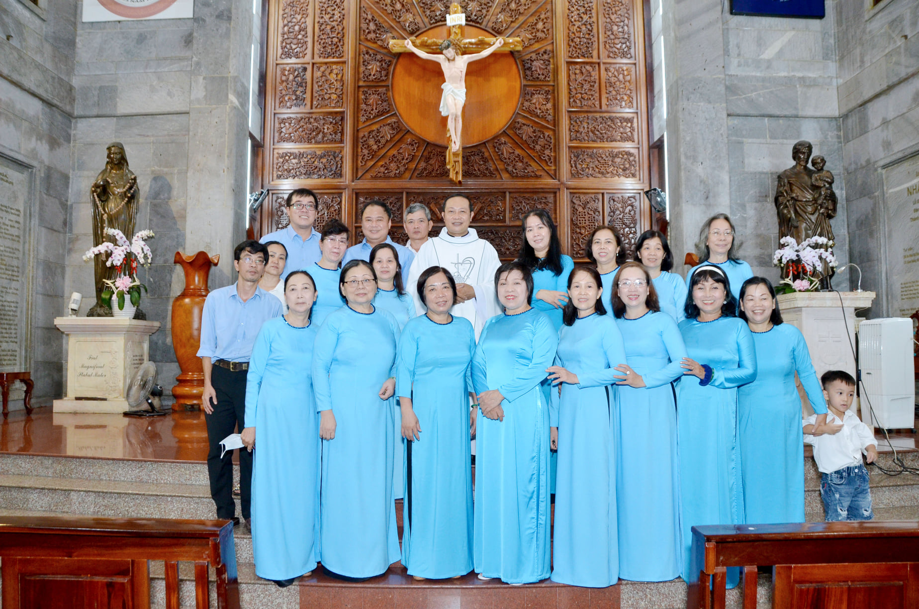 Giáo xứ Vĩnh Hòa: Mừng lễ Sinh nhật Đức Maria ngày 08.09.2020