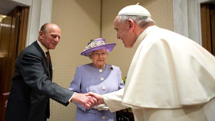 ĐTC và các vị lãnh đạo Giáo hội Công giáo và Anh giáo ở Anh phân ưu về sự qua đời của hoàng thân Philip