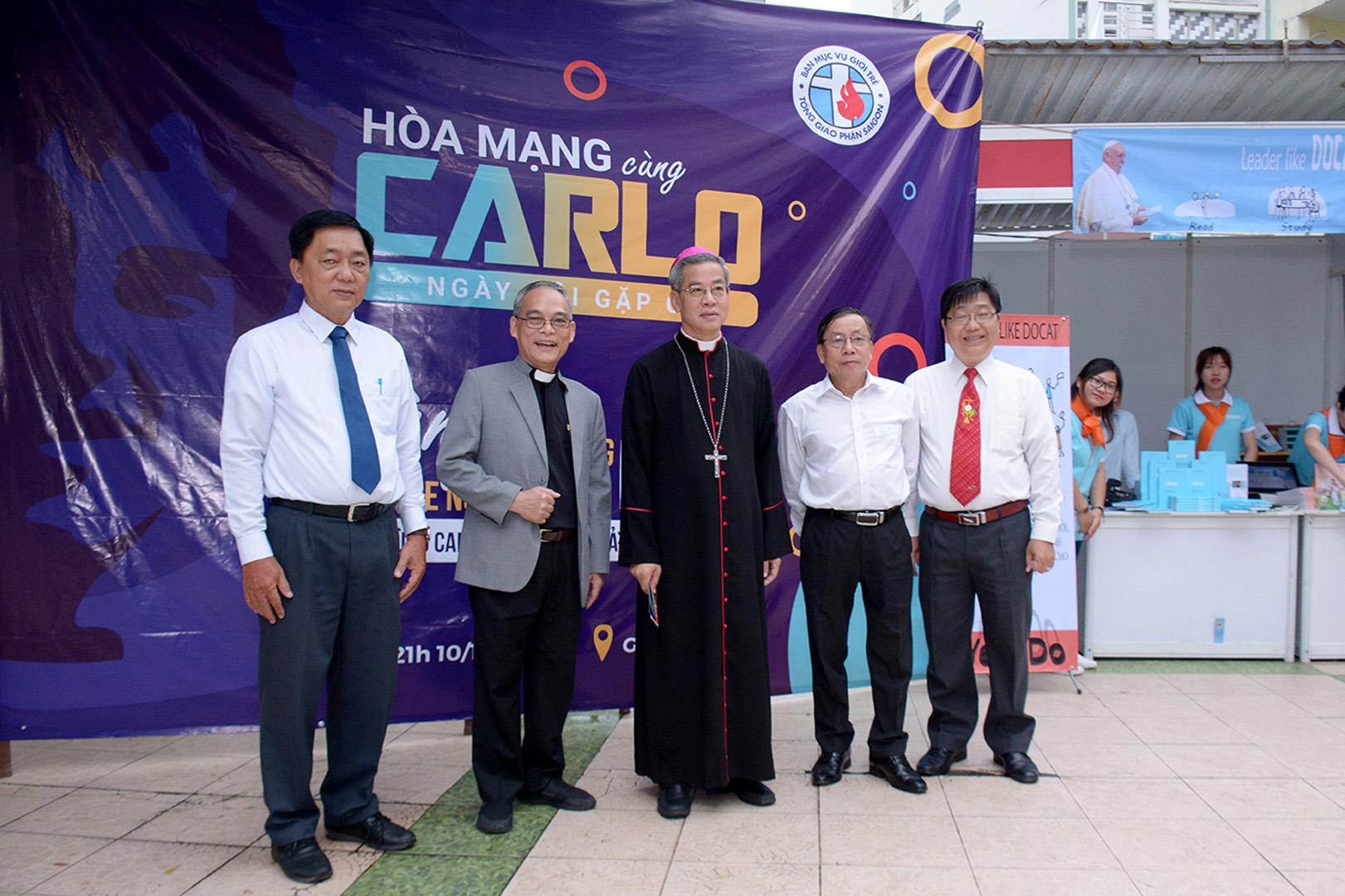 Hòa mạng cùng Carlo: Gặp gỡ giới trẻ TGP Sài Gòn ngày 10-10-2020
