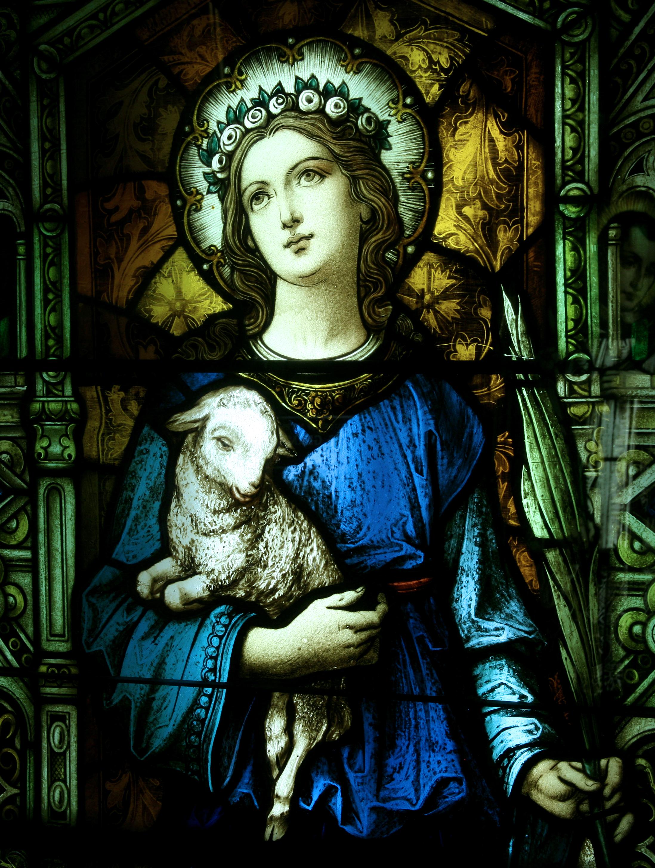 Ngày 21/01: Thánh Agnès (Inê) - Trinh nữ, tử đạo