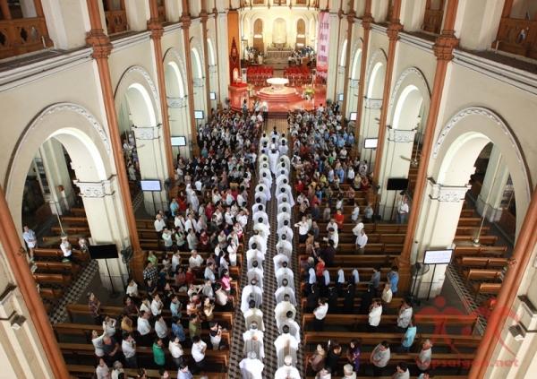 Ứng viên linh mục và phó tế năm 2019 của TGP Sài Gòn