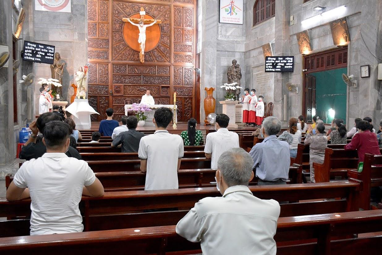 Giáo xứ Vĩnh Hòa: Mừng lễ Chúa Thăng Thiên 2021