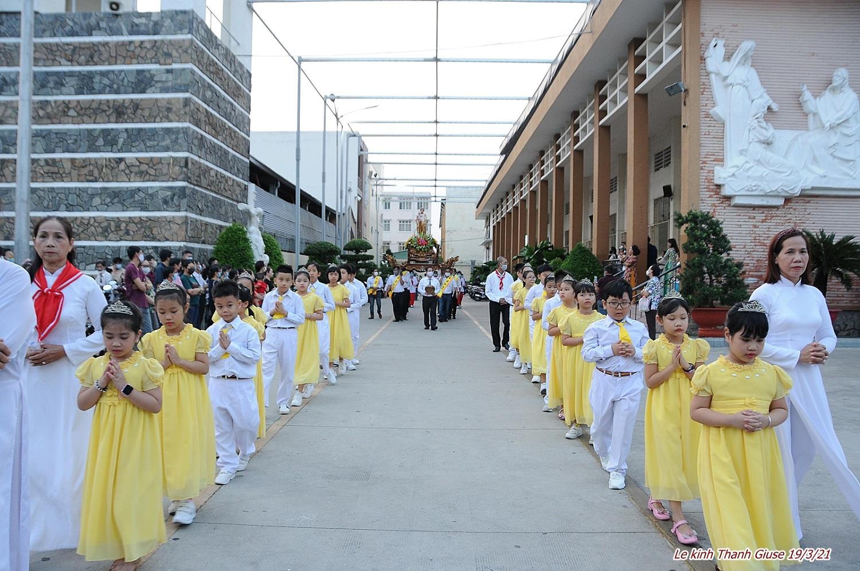Giáo xứ Tân Phú: Lễ Thánh Giuse 2021 - Bổn mạng các Linh mục trong xứ