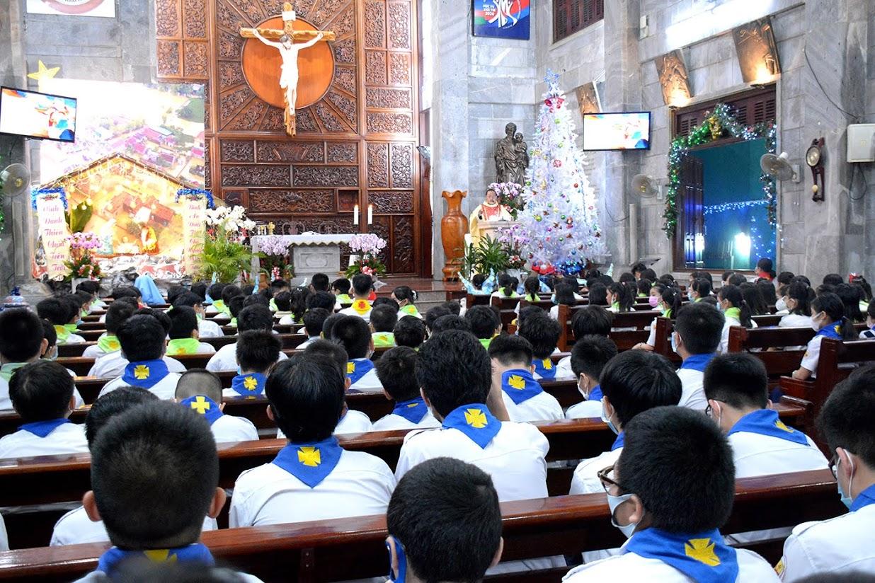 Giáo xứ Vĩnh Hòa: Thánh lễ Vọng Giáng sinh 2020