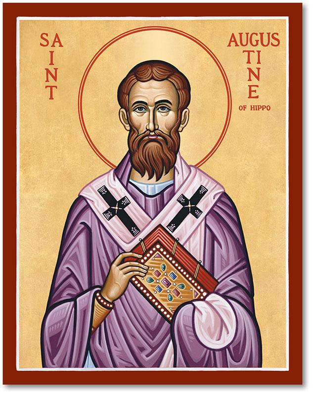 Ngày 28/08: Thánh Augustinô, Giám mục, Tiến sĩ Hội thánh