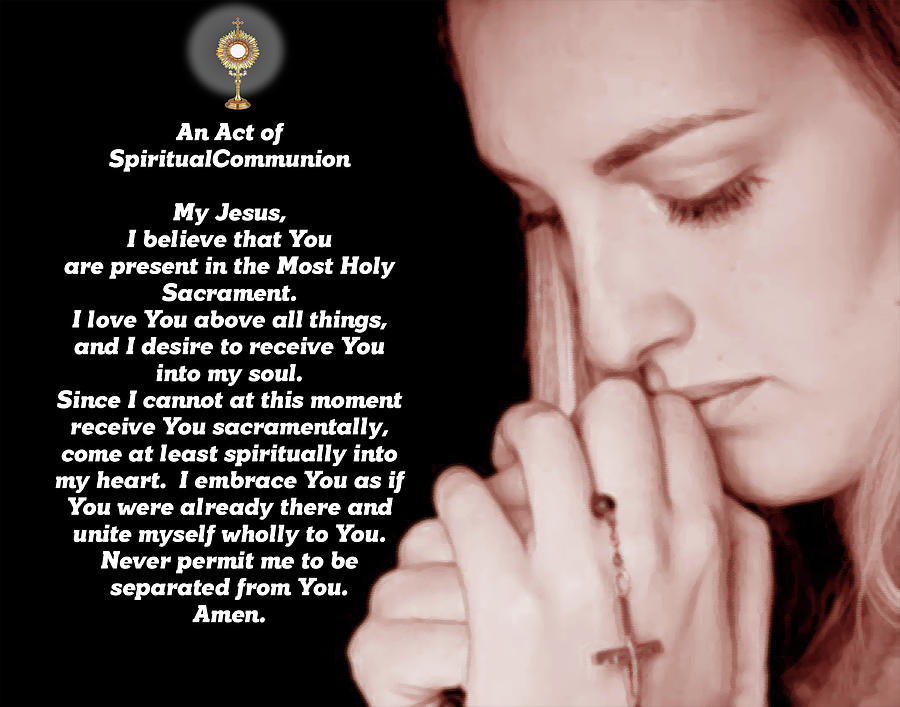 Rước lễ thiêng liêng: tính thần học và niềm an ủi từ Chúa Kitô