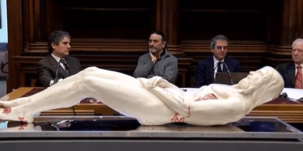 Tượng Chúa Giêsu được tạo ra theo dữ liệu từ khăn liệm thành Turino