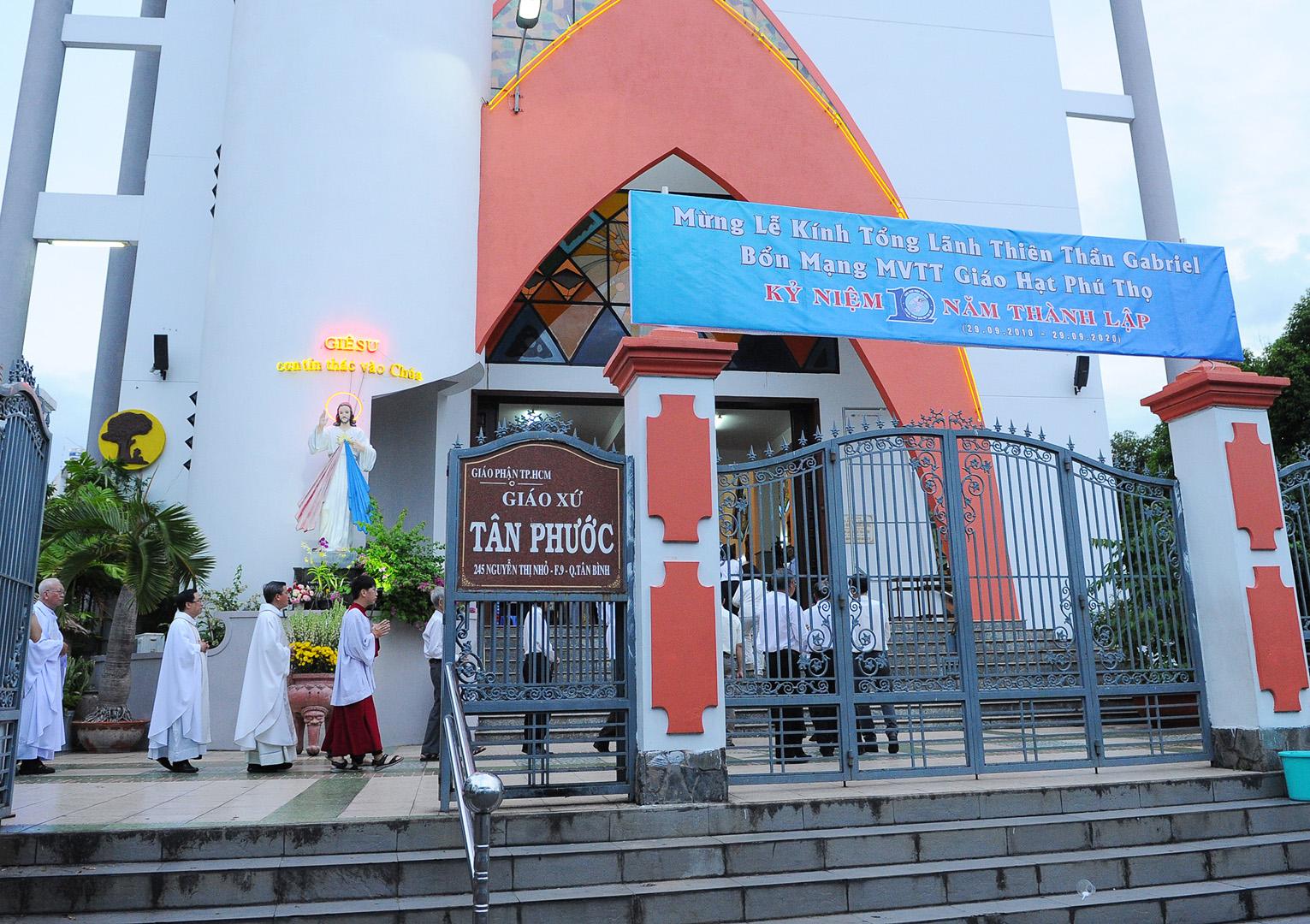 MVTT giáo hạt Phú Thọ: Mừng bổn mạng và kỷ niệm 10 năm thành lập