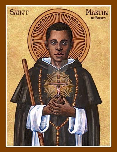 Ngày 03/11: Thánh Martinô de Porres, tu sĩ