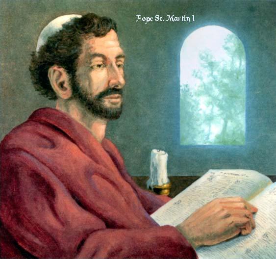 Ngày 13/4: Thánh Martinô I, Giáo hoàng tử đạo
