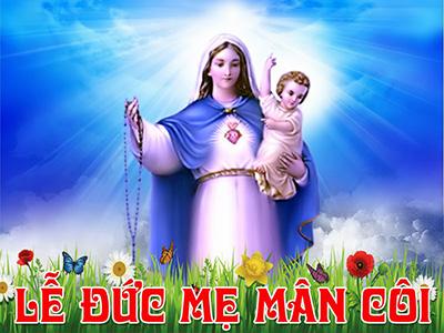 Ngày 07/10: Lễ Đức Mẹ Mân Côi.