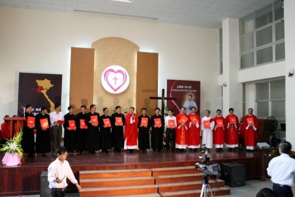 Học viên Liên Dòng Phaolô Nguyễn Văn Bình:  Thư Chiêu Sinh niên khóa 2021-2022