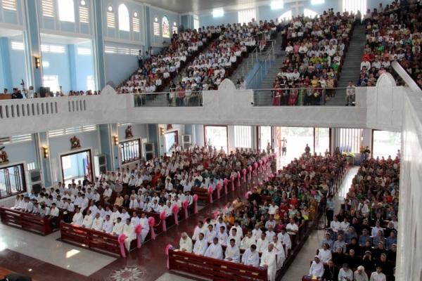 Thánh lễ cung hiến thánh đường Don Bosco Xuân Hiệp