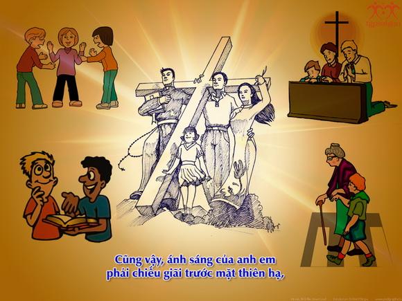 Thánh Kinh bằng hình: Chúa nhật V Thường niên A