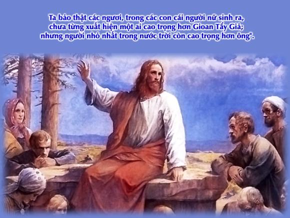 Thánh Kinh bằng hình: Chúa nhật III Mùa Vọng A