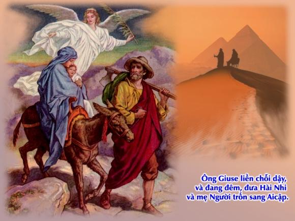 Thánh Kinh bằng hình: Chúa nhật Lễ Thánh Gia Thất năm A